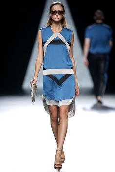 Ana Locking Primavera-Verano 2014 Mercedes-Benz Fashion Week Madrid.