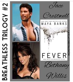Jace & Bethany in Fever from The Breathless Trilogy by Maya Banks Romance Novel Covers, Romance Novels, Maya Banks, Casting Pics, Book Quotes, It Cast, Meet, Reading, Couples