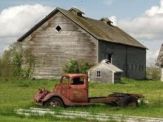 Old Barn . . . Old Truck