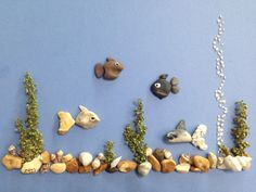 Pebble art aquarium by gülen                                                                                                                                                      More