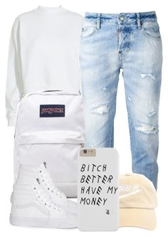 """""""6:11:15"""" by codeineweeknds ❤ liked on Polyvore featuring Acne Studios, JanSport, Dsquared2 and Vans"""
