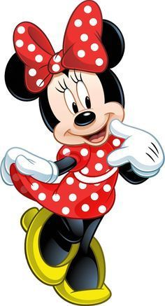 Minnie Mouse is an anthropomorphic mouse created by Walt Disney. She is the girlfriend of Mickey. Mickey Mouse E Amigos, Mickey E Minnie Mouse, Theme Mickey, Mickey Mouse And Friends, Minnie Mouse Drawing, Minnie Mouse Clipart, Mickey Mouse Cartoon, Baby Mickey, Retro Disney