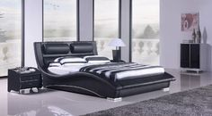 black modern bedroom furniture. Napoli Modern Platform Bedblack Queen ** Check Out This Great Product. Black Bedroom Furniture