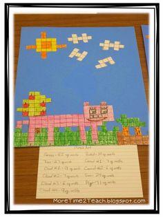 More Time 2 Teach: Area & Perimeter: A Hands on Approach Math Resources, Math Activities, Third Grade Math, Grade 2, Sixth Grade, Fourth Grade, Second Grade, Division, Maths Area