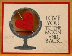 One Stamp Four Ways - Club Scrap #valentines #lovequotes