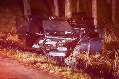 Wypadek na Karsiborskiej samochód w rowie | Świnoujście w sieci