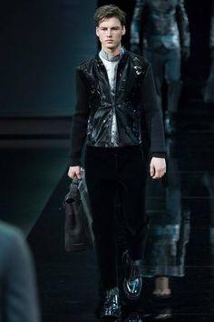 Emporio Armani Fall 2014 Menswear Collection Slideshow on Style.com