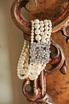 ZsaZsa Bellagio: Pearls so glamorous.