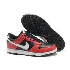 Køligt Nike Dunk SB Low Rød Hvid Sort Herre Skobutik | Nyeste Nike Dunk SB Low Skobutik | Nike Skate Skobutik Butik | denmarksko.com