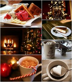 Wintertime food and drink.