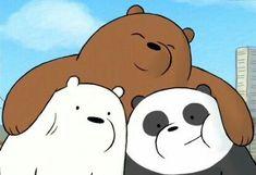 We Bare Bears Wallpapers, Panda Wallpapers, Cute Cartoon Wallpapers, Phone Wallpaper Design, Bear Wallpaper, Bear Pictures, Cute Pictures, Tumblr Girl Drawing, Watercolour Drawings