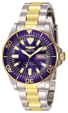 302d53f83 Invicta 7046 Men s Watch Automatic Blue Dial Two-Tone Stainless Steel Band