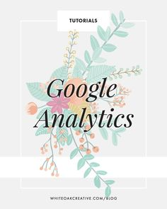 Google Analytics: Understanding Your Audience || White Oak Creative