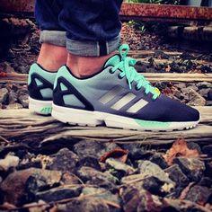 Adidas ZX Flux Gradient (Black Mint), tengo las Multicolor pero también quiero estas!
