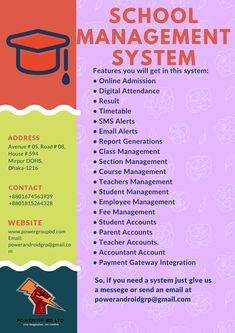 School Management System  Email: powerandroidgrp@gmail.com Contact on +8801815264328, +8801674563939  #google #business #job #programming #code #studio #skill #android #ios #website #webdevelopment #iTunes #playstore #apps #top_software_developer #top_android_developer #best_it_company #Marketing #Business #Software #Apps #Mobile #Entrepreneur #Sales #Digital #Tools #Social #Android_Developers_of_Bangladesh power_gp_bd_limited Software Apps, Business Software, Class Management, Web Development, Android Developer, Coding, Teacher, Student, Professor