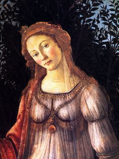 Sandro Botticelli, La Primavera (detail)