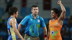 Sakshi malik kept India proud in Rio
