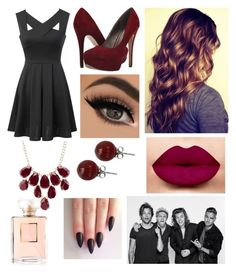 """""""Night out for Harry's b-day"""" by hailey1011 ❤ liked on Polyvore featuring Michael Antonio, WithChic, Lalique and Charlotte Russe"""