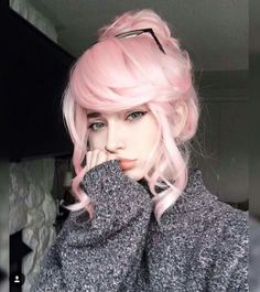 Pin by dana mcbride on hair pins in 2019 pastel pink hair, hair color pink, Pastel Pink Hair, Hair Color Pink, Pastel Style, Girl With Pink Hair, Pink Girl, Lilac Hair, Gray Hair, White Hair, Pastel Goth Nails