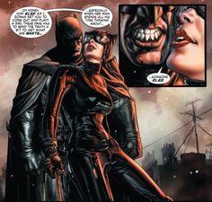 Bat and Cat Romance
