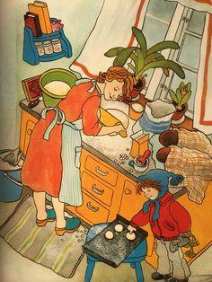 Children's Book Illustration, Book Illustrations, Children's Literature, Vintage Books, Betta, Childrens Books, Art For Kids, Book Art, Childhood