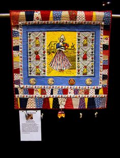 DSC02714 Quilt Vintage Revisited The Little Dutch Girl by Judy Gula by godutchbaby, via Flickr