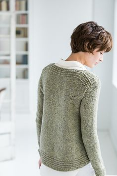 """Ravelry: Devlan pattern by Bristol Ivy ~ Worsted 10ply with saddle shoulder ~ Sized: 32"""" - 55"""""""