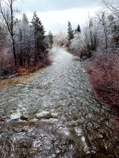 - River Shimmer: Eramosa, Ontario, Canada
