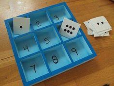 for preschool activity! by lynne Numbers Preschool, Math Numbers, Preschool Classroom, Preschool Learning, Kindergarten Math, Classroom Activities, Teaching Math, Fun Learning, Preschool Activities