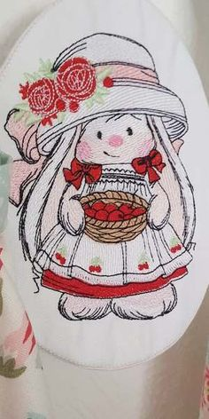 Bunnies embroidery collection
