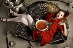 Amanda Seyfried by Mark Seliger for Vogue Italia