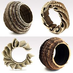 anthony roussel - wood bangles