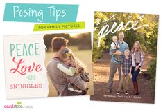Posing tips for family pictures - Universal tips to help you take your BEST family photo ever | Cardstore Blog