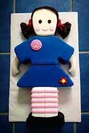 jemima playschool birthday cake - Google Search