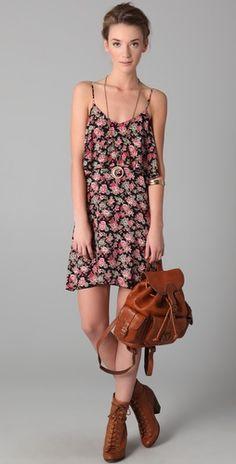 pretty spring dress