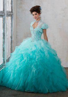 Mori Lee Vizcaya Quinceañera Dress Style 89123BL