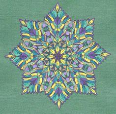 Mandala Art Therapy for emotional healing