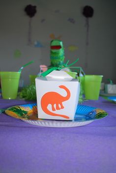 Grace's Girl Dinosaur Party- I saw3packs of these at the dollar tree.