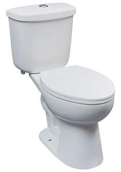 Stock photo of the toilet we used. Tuscany™ Milan Dual Flush Complete Toilet at Menards. Affordable and comfort height!