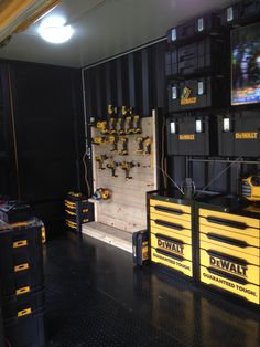 Dewalt promo shipping container box created by www.PortContainerServices.com.au