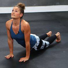 10-Minute Jessica Alba CrossFit Workout Video-- Great quick work out!!!