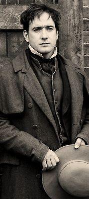 Matthew Macfadyen as Arthur Clenham on Little Dorrit.
