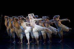 """Matthew Bourne's fantastic, male-driven 1995 re-envisioning of Tchaikovsky's """"Swan Lake.""""  This 3-D film, starring principal dancers Richard Winsor and Nina Goldman, which was recorded at Sadler's Wells in 2011."""