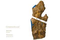 Composición azul Meat, Sculptures, Blue Nails