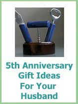 Gift For Husband 5th Wedding Anniversary : 5th Anniversary Gift Ideas on Pinterest Anniversary Gifts, Wedding ...