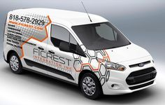 Design a clean and elegant car wrap for 2015 ford transit connect Ford Transit, Van Signage, Car Lettering, Van Car, Vw T, Car Signs, Truck Design, Car Advertising, Car Wrap