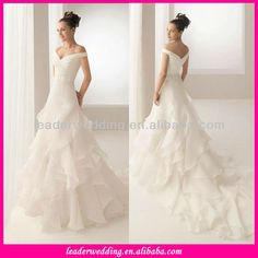 Hot Sale A Line Off Shoulder Organza Wedding Dress - Buy High Quality Wedding Dress,Off The Shoulder Wedding Dress,Hot Sale Organza Wedding Dress 2013 China Product on Alibaba.com
