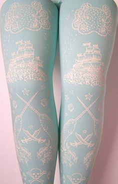 Don't know what brand these are but they are AMAZING. What could be better than narwhals, pirate ships and giant octopus!