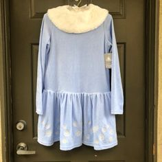 NWT Disney Parks Frozen Winter Dress Size 11/12. This item is an authentic Disney Parks merchandise. It was originally priced at $49.99.