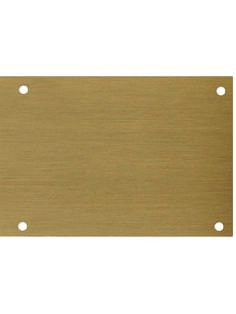 Solid Brass Kick Plate With Antique Finish | House of Antique Hardware